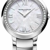 Baume & Mercier Promesse Steel 30mm Mother of pearl Roman numerals United States of America, California, Simi Valley