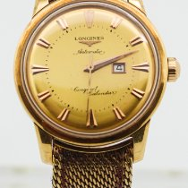 Longines Yellow gold 35mm Automatic 9005 pre-owned United States of America, Florida, Key Biscayne