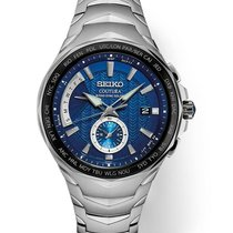 Seiko Coutura Staal 44.5mm Blauw
