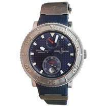 Ulysse Nardin Maxi Marine Diver Steel 41mm Blue United States of America, New York, Greenvale