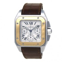 Cartier Steel 42mm Automatic W20091X7 pre-owned