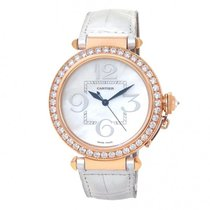 Cartier Rose gold 42mm Automatic WJ124005 pre-owned