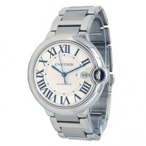 Cartier Steel 42mm Automatic W69012Z4 pre-owned