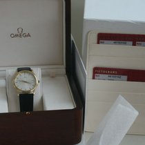 Omega pre-owned Quartz 34mm Silver Sapphire crystal