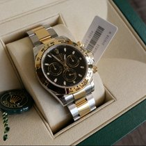 Rolex Daytona Gold/Steel 40mm Black No numerals United States of America, California, Sunnyvale