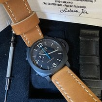 Panerai Luminor 1950 3 Days Chrono Flyback pre-owned 44mm Black Chronograph Flyback Date Leather