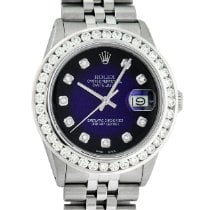 Rolex Datejust Steel 36mm Blue United States of America, California, Los Angeles