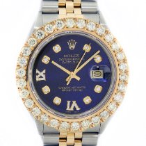 Rolex Datejust Gold/Steel 36mm Blue United States of America, California, Los Angeles