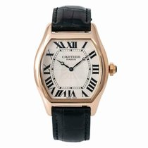 Cartier Tortue Rose gold 36mm Champagne Roman numerals United States of America, New York, New York