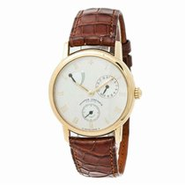 Vacheron Constantin Yellow gold Automatic White Roman numerals 39mm pre-owned Patrimony