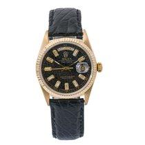 Rolex Staal Automatisch Zwart 36mm tweedehands Day-Date 36