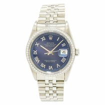 Rolex 16264 Steel 2000 Datejust Turn-O-Graph 38mm pre-owned United States of America, New York, New York