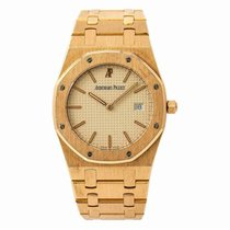 Audemars Piguet 56175 Yellow gold 1990 Royal Oak 33mm pre-owned United States of America, New York, New York