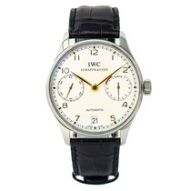 IWC IW500114 Steel 2010 Portuguese Automatic 42mm pre-owned United States of America, New York, New York