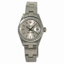 Rolex 69190 Steel 1990 Oyster Perpetual Lady Date 26mm pre-owned United States of America, New York, New York