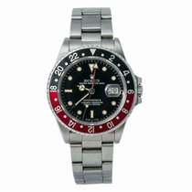 Rolex 16760 Yellow gold 1980 GMT-Master II 42mm pre-owned United States of America, New York, New York