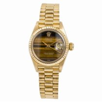 Rolex Lady-Datejust Yellow gold 26mm Brown United States of America, New York, New York