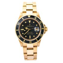 Rolex 16808 1980 Submariner Date 40mm pre-owned United States of America, New York, New York