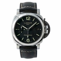 Panerai Luminor 1950 3 Days GMT Automatic Steel 49mm Black No numerals United States of America, New York, New York