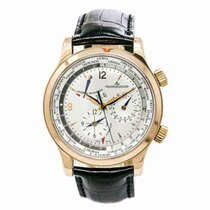 Jaeger-LeCoultre Master World Geographic 42mm Silver Arabic numerals United States of America, New York, New York