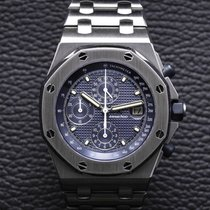 Audemars Piguet Royal Oak Offshore Chronograph Steel 42mm Blue Arabic numerals United States of America, Massachusetts, Boston