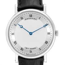 Breguet White gold Automatic Silver Roman numerals 38mm pre-owned Classique