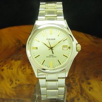 Pulsar pre-owned Quartz 38.7mm Silver