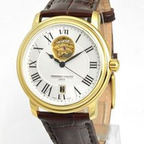 Frederique Constant Classics Heart Beat Gold/Steel 40mm Silver