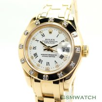 Rolex Lady-Datejust Pearlmaster Oro amarillo 29mm
