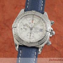 Breitling Chronomat Evolution Zeljezo 44mm Srebro