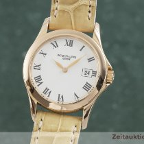 Patek Philippe Calatrava Red gold 28mm White