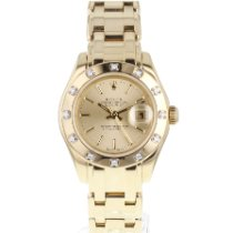 Rolex Lady-Datejust Pearlmaster Or jaune 29mm France, Lyon