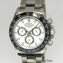 Rolex Daytona Steel 40mm White No numerals United States of America, Florida, 33431