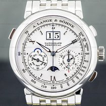 A. Lange & Söhne Platinum 41mm Manual winding 410.025 pre-owned United States of America, Massachusetts, Boston
