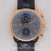IWC Portuguese Chronograph Roségoud 42mm Grijs Arabisch Nederland, Eindhoven