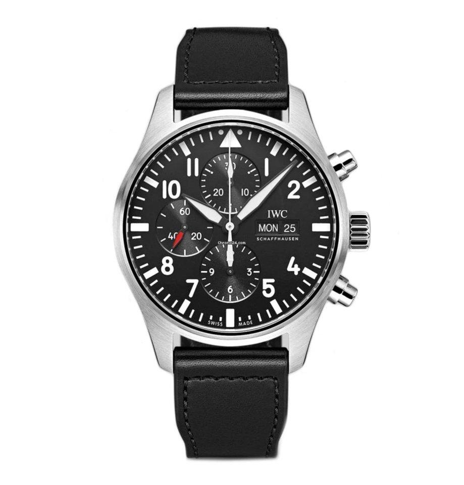 IWC Pilot Chronograph IW3777-09 new