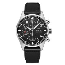IWC Pilot Chronograph new Automatic Chronograph Watch with original box and original papers IW3777-09