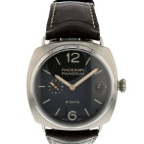 Panerai Radiomir 8 Days Titane 45mm Noir Arabes