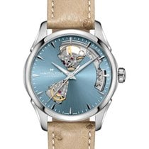 Hamilton Jazzmaster Lady Steel 36mm Blue No numerals