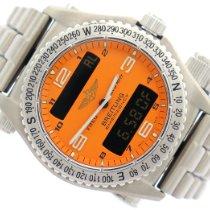 Breitling Emergency Titanium 43mm Orange Arabic numerals