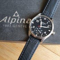 Alpina Startimer Pilot Acero Negro