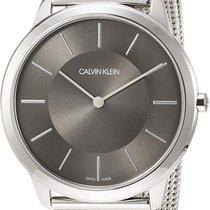 ck Calvin Klein Stål 35mm Kvarts k2m22124 ny