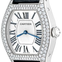 Cartier Tortue White gold 28mm Silver Roman numerals United States of America, Texas, Dallas