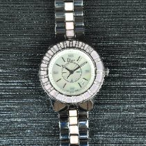 Dior Christal Acero 34mm Madreperla Sin cifras