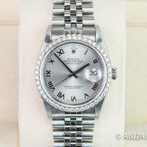 Rolex Datejust Otel 36mm Gri Roman