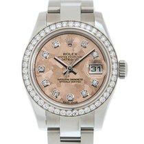 Rolex Lady-Datejust nuevo Automático Reloj con estuche y documentos originales 179384GPKCRYSTAL_O