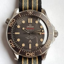 Omega Seamaster Diver 300 M Titanio 42mm Negro Sin cifras