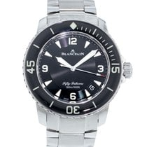 Blancpain Fifty Fathoms 5015-1130-71s 2010 pre-owned