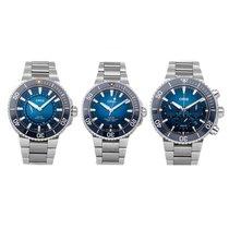 Oris Steel 39.5mm Automatic Trilogy Set pre-owned