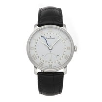 Blancpain Steel Automatic White Roman numerals 40mm pre-owned Villeret Ultra-Slim